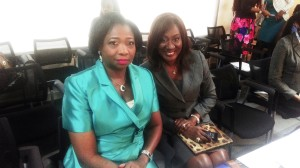 With Hon. Abike Dabiri-Erewa who gave a rousing keynote speech