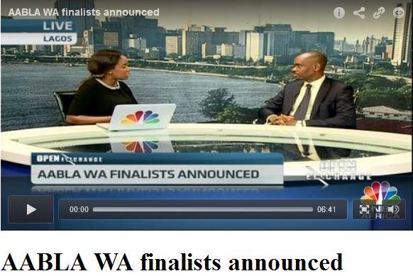 AABLA2015, AABLAWARDS, CNBC Africa, Africa Award, Business Woman of the Year, Awards, Nimi Akinkugbe, Bestman Games