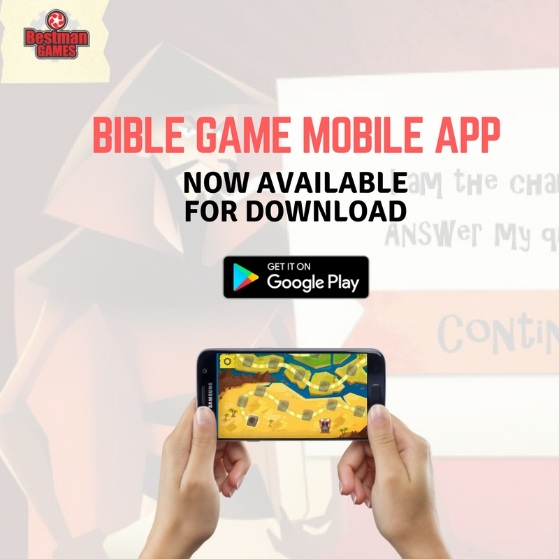 Bible Game Mobile App