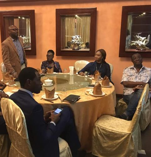 LBS Alumni Association Lunch and Learn with Nimi